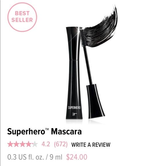It Cosmetics Superhero Mascara NWT